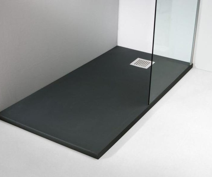 Platos de ducha extra fino pizarra (estándar)