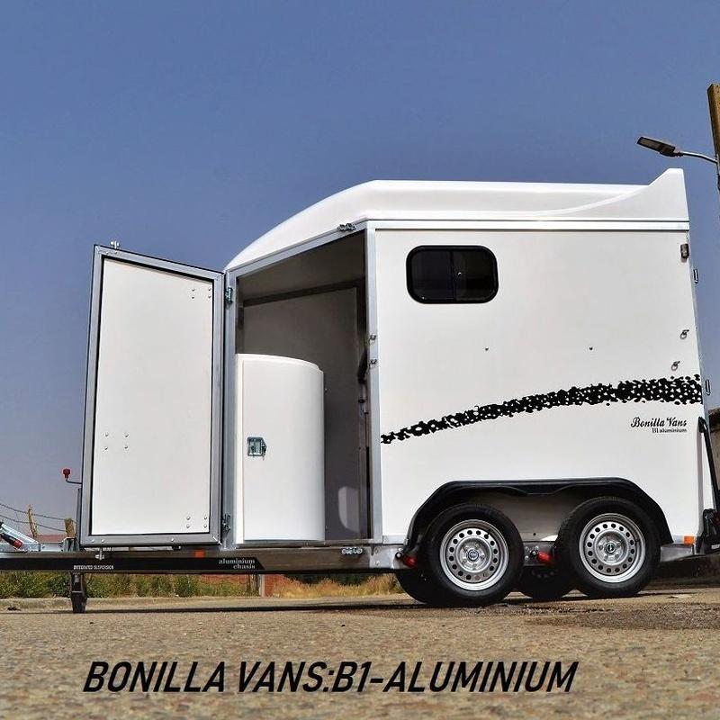 Remolque van de caballos B1-Aluminium Bonilla Vans