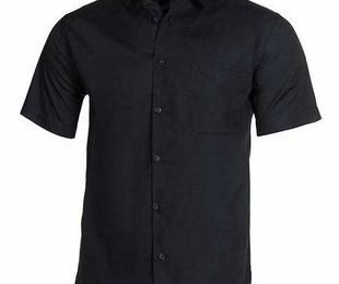 Camisa clásica para hombre manga corta
