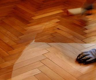 Barnizado de suelos: Catálogo de Manuel Alejandro Bouzas Rey