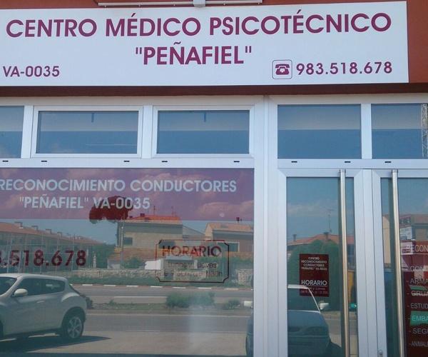 Centro médico Psicotécnico Peñafiel