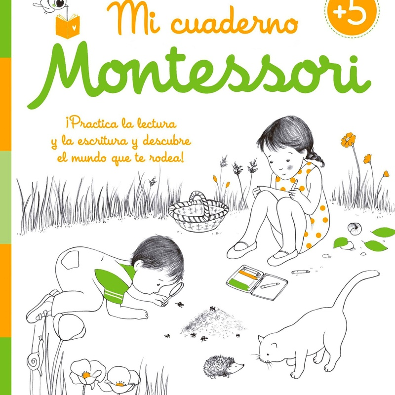 VACACIONES MI CUADERNO DE VACACIONES MONTESSORI 5 AÑOS.  ISBN 9788408155010