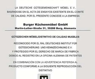 Burger: Productos y servicios de Premier Estudio de Cocinas