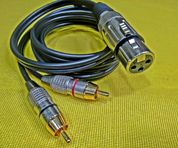 CANON HEMBRA -2 RCA MACHO: Nuestros productos de Sonovisión Parla