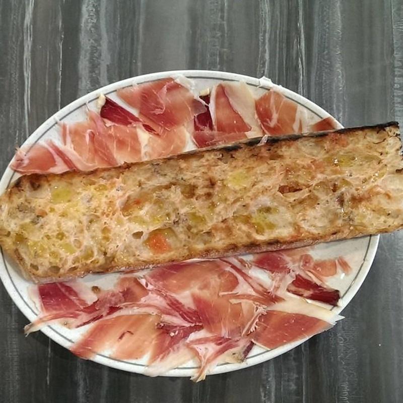 Tostadas: Carta y menús de Restaurant Ran de Mar (antiguo Ancora 2)