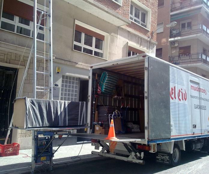 precio de mudanzas en Alcobendas