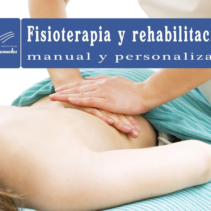 Servicio de FISIOTERAPIA Y REHABILITACION manual y personalizada.: CURSOS Y SERVICIOS de Instituto de Terapias Manuales