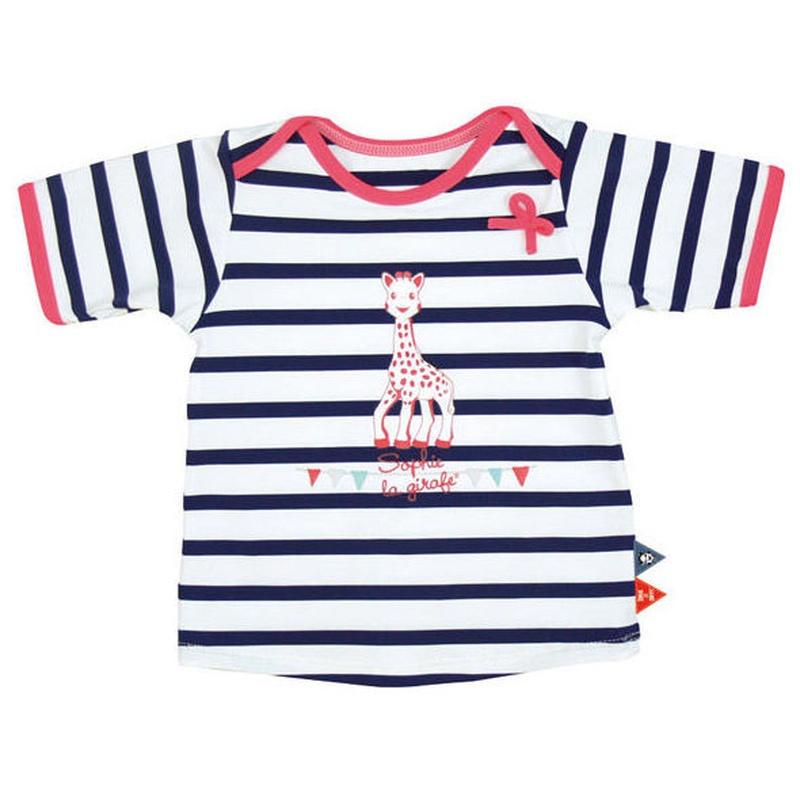 Camiseta de Manga Corta Sophie la Jirafa con filtro anti uv niña: Productos de Mister Baby