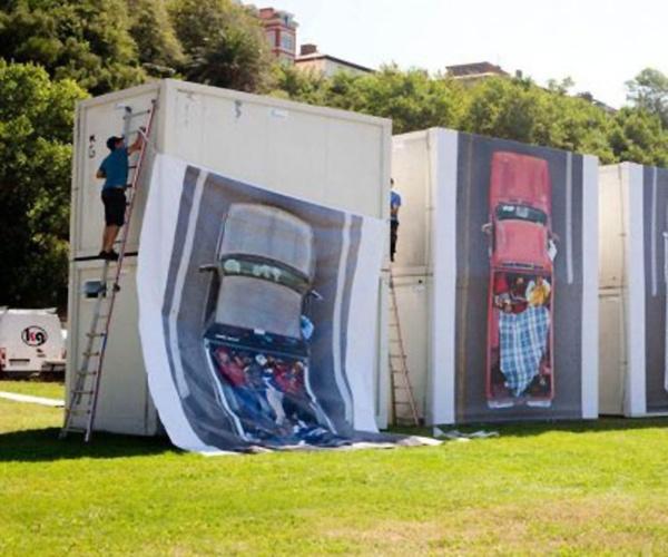 Montaje de módulos prefabricados en Vizcaya