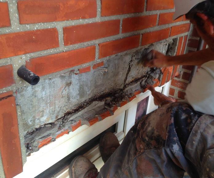 Reparación de fahadas Torrelavega
