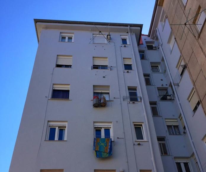 Aislamiento térmico para fachadas.