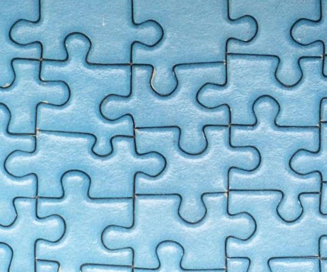 Enmarca un puzzle para la habitación de tus hijos