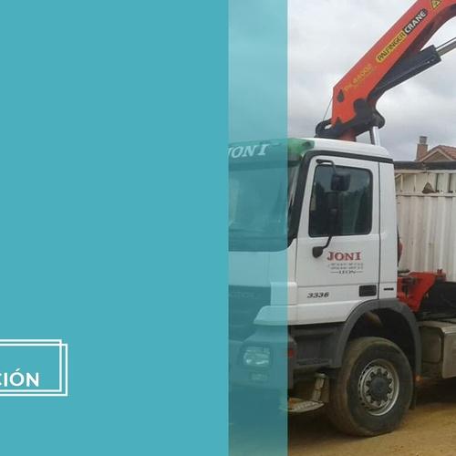 Servicio camión grúa enLeón | Grúas Joni