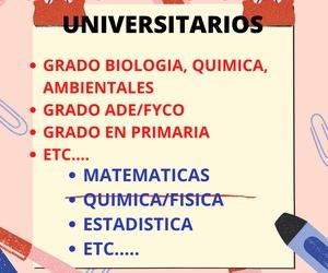 CLASES APOYO PARA UNIVERSITARIOS