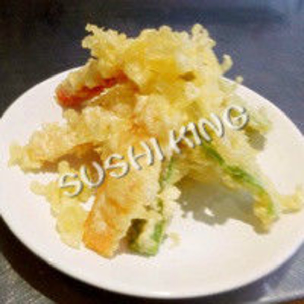 4A. TEMPURA  DE  VEGETAL: Carta de Sushi King Restaurante