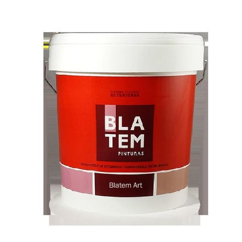 Blatem-Art en almacén de pinturas en ciudad lineal.