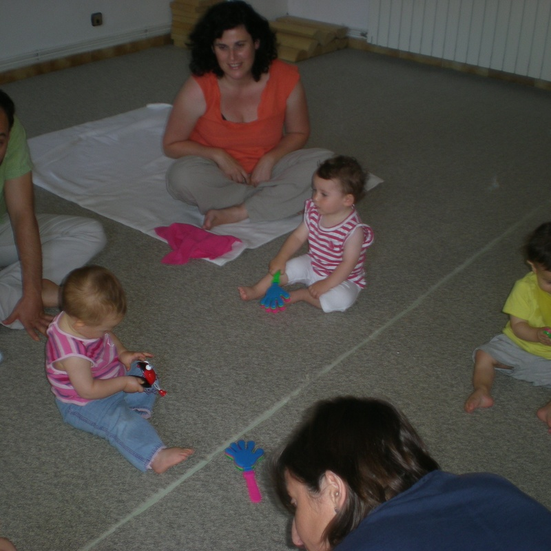 classe música nadons de 9 a 12 mesos