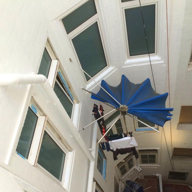.Rehabilitación de patio de luces en Santander