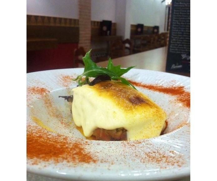 Lasaña de atún rojo: Nuestros platos de La Tapería de Columela