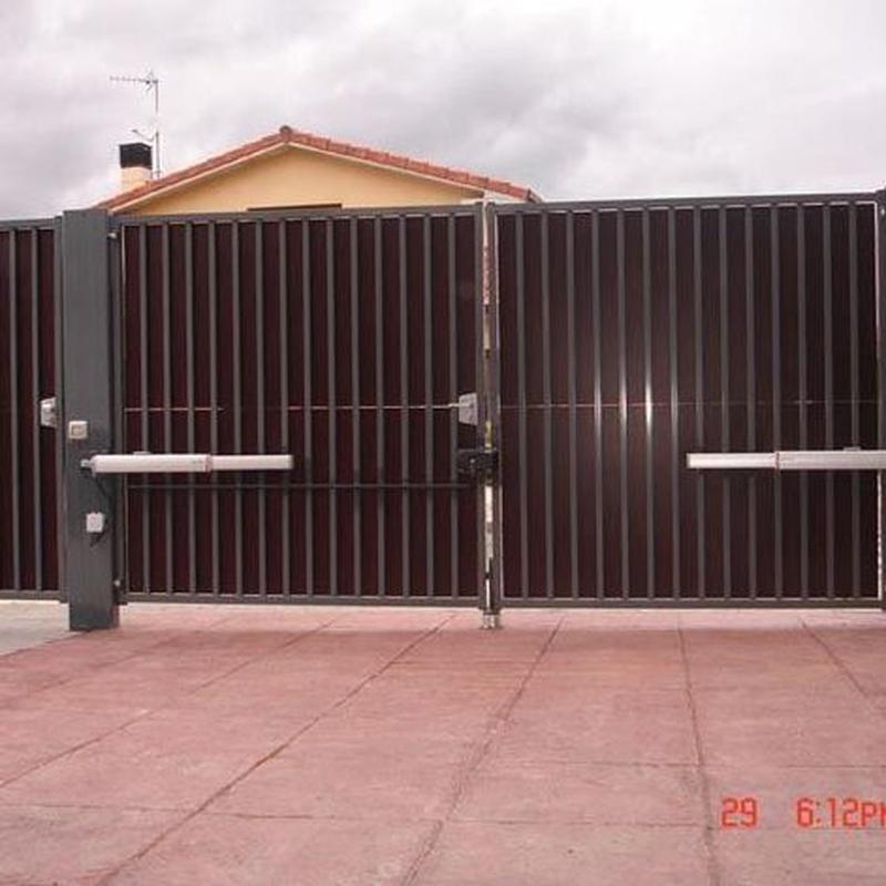 Motorizacion de puertas de garaje pamplona