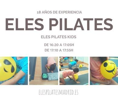 Eles Pilates KIDS 16:20 o 17:10h