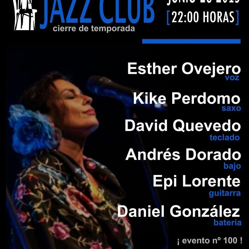 Esther Ovejero cierra la temporada de jazz del Café Teatro Rayuela: Programación de Café Teatro Rayuela
