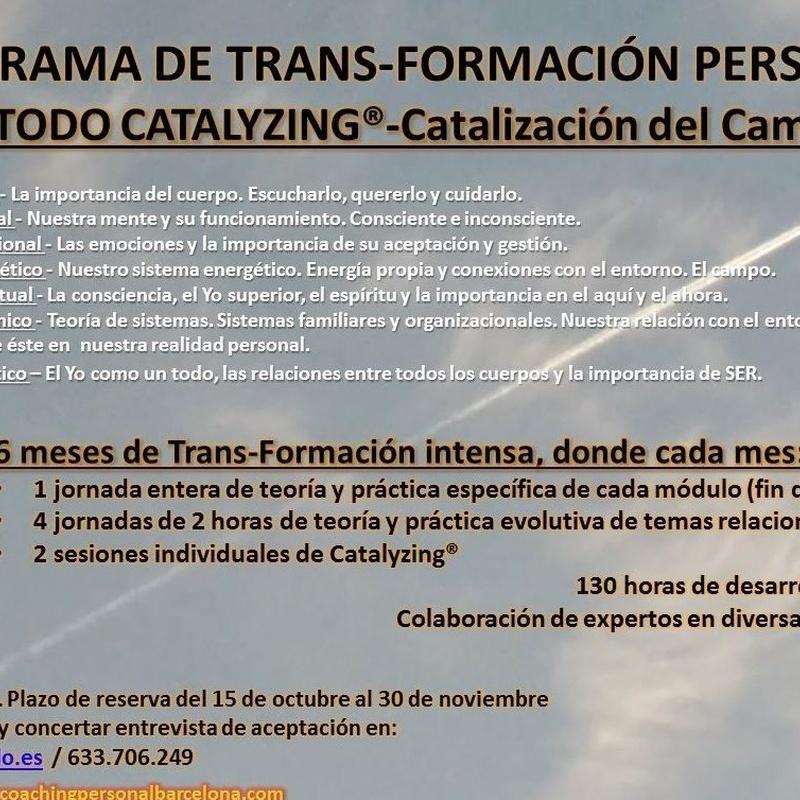 PTFP Catalyzing - Trans-Formate en quien puedes llegar a ser