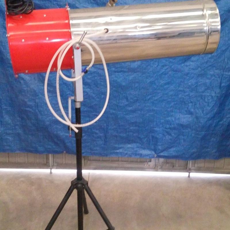 cañón de espuma: Nuestros servicios de Jukeval Eventos
