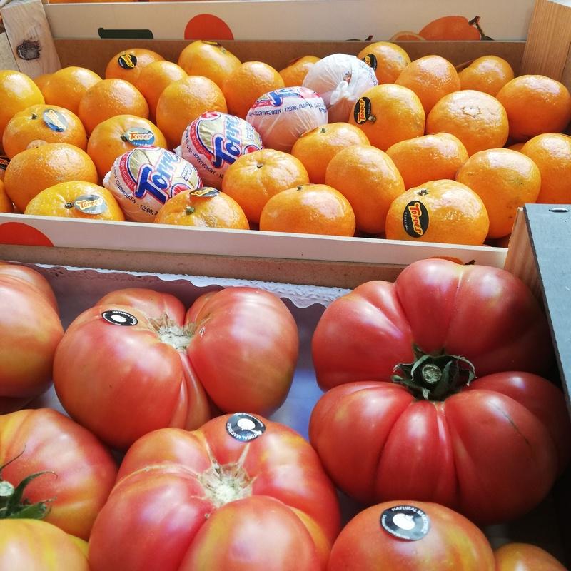 Frutas, verduras y hortalizas: Servicios de Frutas Pili