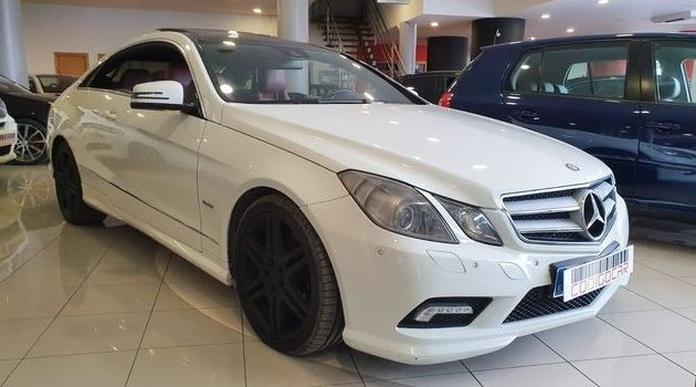 MERCEDES E 250 CDI COUPE: Compra venta de coches de CODIGOCAR