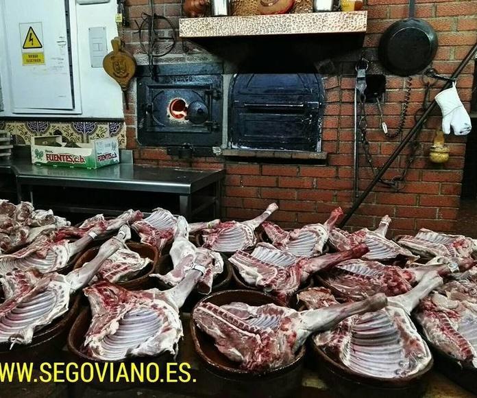 Asados: Nuestra Carta de Mesón Restaurante El Segoviano