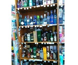 Gran variedad de licores