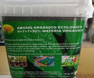 BOTE ABONO ORGANICO ECOLOGICO 1.5 KG.FRONTAL