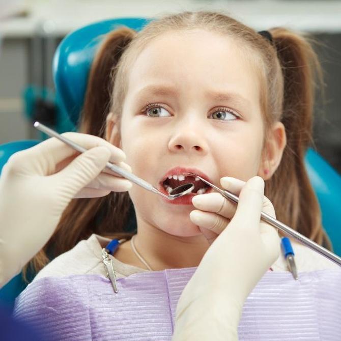 Los traumatismos dentales en los niños