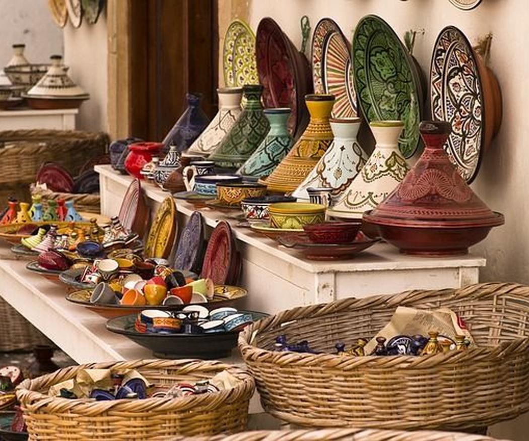 La majestuosidad de la artesanía marroquí