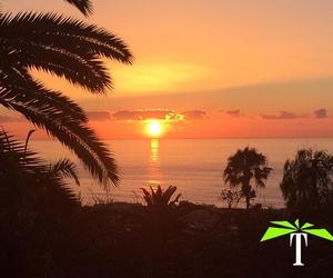 Espectaculares atardeceres desde la Terraza Taoro, Puerto de la Cruz