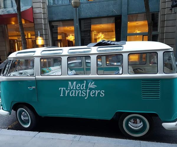Alquiler de furgoneta Wolkswagen T1 para eventos