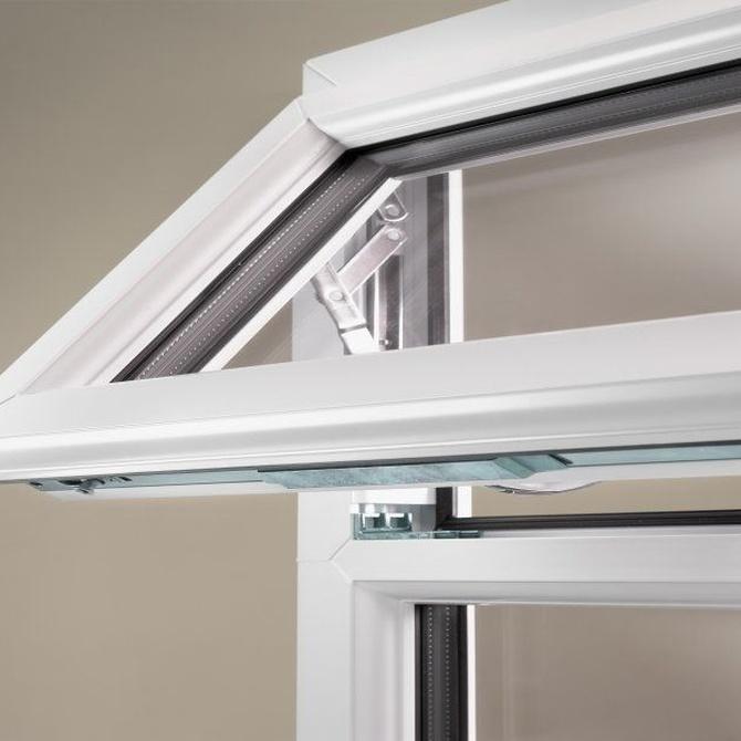 Las diferentes partes de las ventanas de PVC