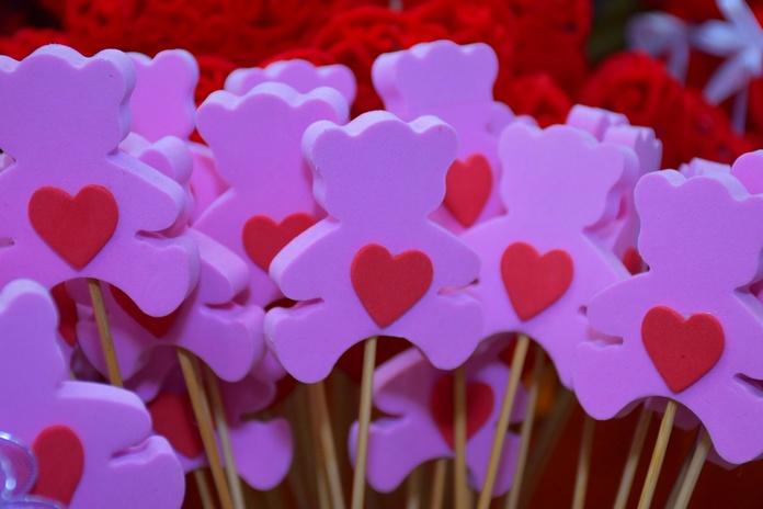 Ositos corazón - Adorno:  de Floristería Contreras