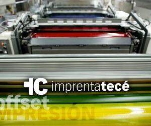 Imprenta con gran capacidad de producción