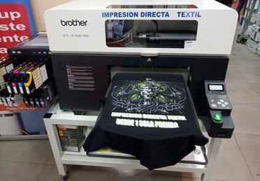 Impresión directa textil
