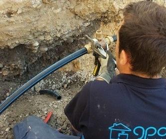 Fontanería: Servicios de Instalaciones GPO