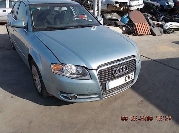 AUDI A4 2.0 TDI AÑO 2005: Catálogo de Desguace Valorización del Automóvil BCL, S.L.