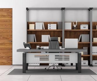 Estanterías metálicas para locales comerciales: Nuestros productos y servicios de Montajes Prigor
