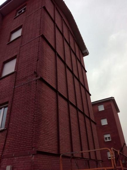 Apuntalamiento de fachadas: Productos y servicios de Metálicas Torca