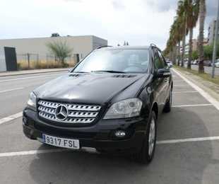 Mercedes ML 320 CDI año 2007  pvp 17500 €uros