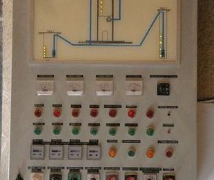 Instalación de control de aguas