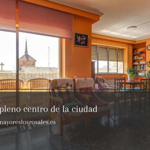 Residencia de la tercera edad en Salamanca | Residencia Los Rosales