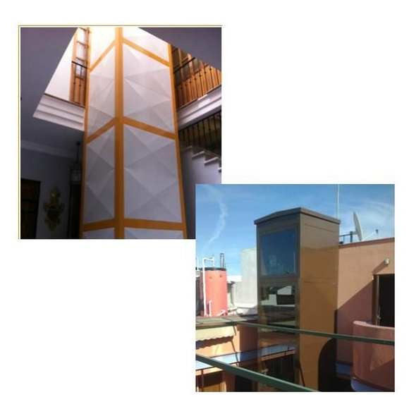 Estructuras autoportantes: Servicios de Tiso Elevadores