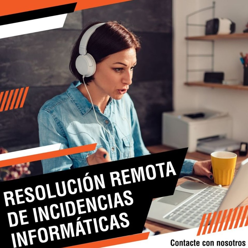 Resolución de remota de incidencias informáticas: Productos y servicios de Ofimática de Cartagena